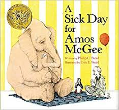 35.	A Sick Day for Amos McGee by Philip C. Stead