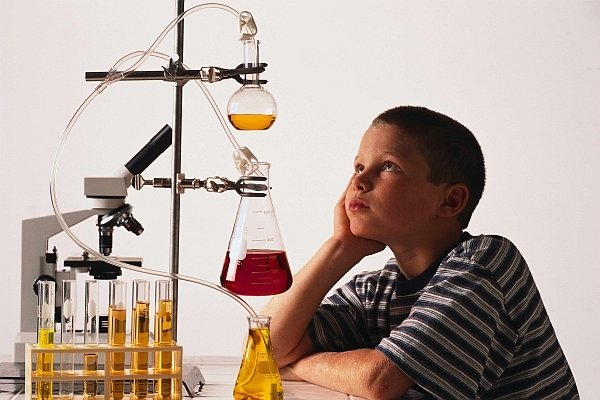 Child Gifted in Science