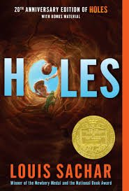 89.	Holes by Louis Sachar