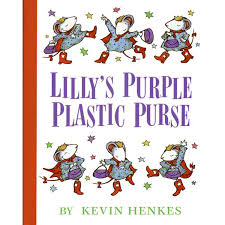 69.	Lilly's Purple Plastic Purse by Kevin Henkes