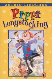 65.	Pippi Longstocking by Astrid Lindgren
