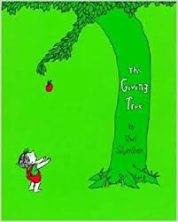 20.	The Giving Tree by Shel Silverstein