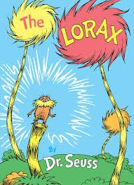 79.	The Lorax by Dr. Suess