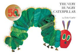1. The Very Hungry Caterpillar by Eric Carle